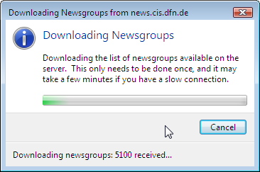Downloading Newsgroups